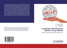 Buchcover von Language Identification System using Matlab