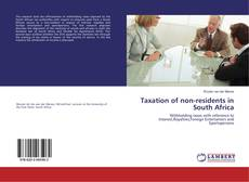 Copertina di Taxation of non-residents in South Africa