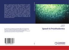 Bookcover of Speech & Prosthodontics