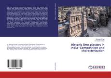 Bookcover of Historic lime plasters in India- Composition and characterization