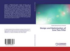 Design and Optimization of Low Pass Filter kitap kapağı