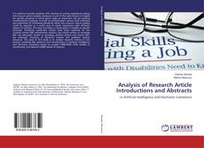 Bookcover of Analysis of Research Article Introductions and Abstracts