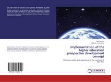 Borítókép a  Implementation of the higher education prospective development concept - hoz