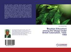 Bookcover of Ɓeyekpe (Education) among the Gbagyi Under British Colonialism, 1920-1960