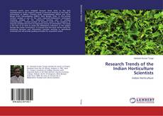 Couverture de Research Trends of the Indian Horticulture Scientists