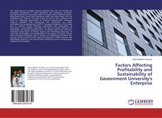 Borítókép a  Factors Affecting Profitability and Sustainability of Government University's Enterprise - hoz