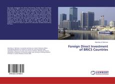 Bookcover of Foreign Direct Investment of BRICS Countries