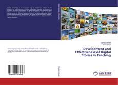 Copertina di Development and Effectiveness of Digital Stories in Teaching