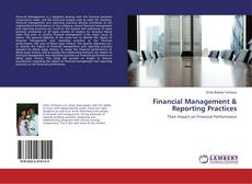 Buchcover von Financial Management & Reporting Practices