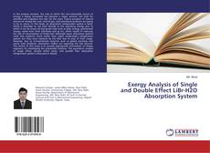 Couverture de Exergy Analysis of Single and Double Effect LiBr-H2O Absorption System