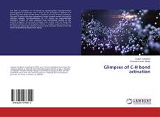 Bookcover of Glimpses of C-H bond activation