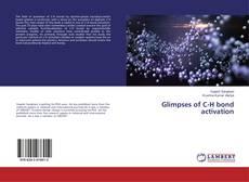 Обложка Glimpses of C-H bond activation
