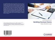 Bookcover of Building Contract Claims