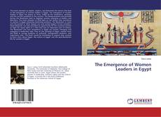 Capa do livro de The Emergence of Women Leaders in Egypt