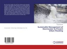 Copertina di Sustainable Management of Stormwater to Prevent Urban Flooding
