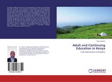 Borítókép a  Adult and Continuing Education in Kenya - hoz