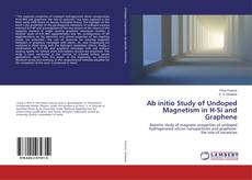 Bookcover of Ab initio Study of Undoped Magnetism in H-Si and Graphene