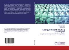 Capa do livro de Energy Efficient Routing Techniques