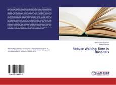 Reduce Waiting Time in Hospitals kitap kapağı