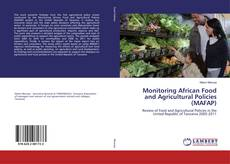 Bookcover of Monitoring African Food and Agricultural Policies (MAFAP)