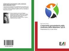 Buchcover von L'intervento psicomotorio nella sindrome della delezione 1p3.6.
