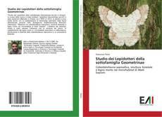 Copertina di Studio dei Lepidotteri della sottofamiglia Geometrinae