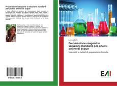 Portada del libro de Preparazione reagenti e soluzioni standard per analisi online di acque