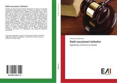 Bookcover of Patti successori istitutivi