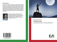 Bookcover of A bassa voce