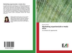 Capa do livro de Marketing esperienziale e moda etica