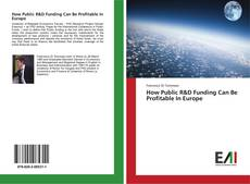 Bookcover of How Public R&D Funding Can Be Profitable In Europe