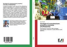 Copertina di Strategie di manutenzione proattiva orientata all'affidabilità
