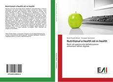 Bookcover of Nutritional e-health ed m-health