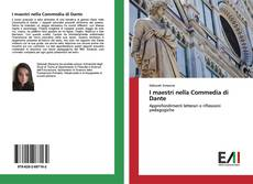 Bookcover of I maestri nella Commedia di Dante