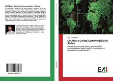 Bookcover of OHADA e Diritto Commerciale in Africa