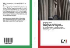 Capa do livro de Sulla Corte europea: una retrospettiva di un giudice
