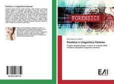 Обложка Fonetica e Linguistica forense