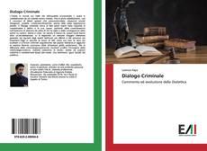 Portada del libro de Dialogo Criminale