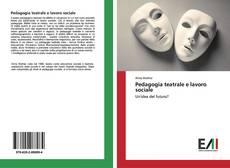 Portada del libro de Pedagogia teatrale e lavoro sociale
