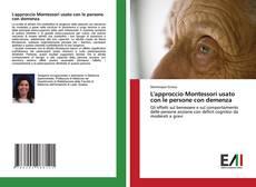 L'approccio Montessori usato con le persone con demenza kitap kapağı