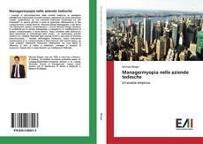Bookcover of Managermyopia nelle aziende tedesche