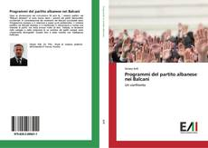 Copertina di Programmi del partito albanese nei Balcani