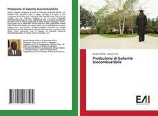 Buchcover von Produzione di balanite biocombustibile