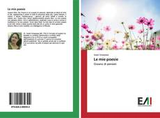 Capa do livro de Le mie poesie