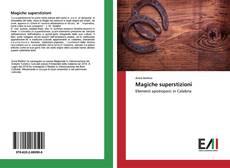 Buchcover von Magiche superstizioni