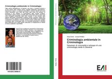 Обложка Criminologia ambientale in Criminologia