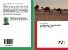 Capa do livro de Lotta contro l'invasione del deserto in Nigeria