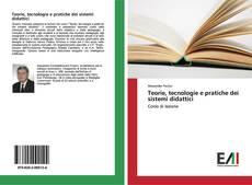 Buchcover von Teorie, tecnologie e pratiche dei sistemi didattici