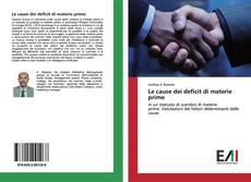 Buchcover von Le cause dei deficit di materie prime