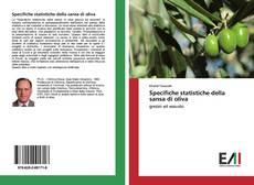 Specifiche statistiche della sansa di oliva kitap kapağı